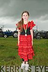 Lixnaw Vintage Rally: Attending  the Lixnaw Vintage Rally and Fancy Dress on Sunday was Megan O'Sullivan, Ballyhorgan, Lixnaw.