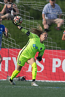 Alston, Massachusetts - June 24, 2017: The North Carolina Courage defeated the Boston Breakers 1-0 in a National Women's Soccer League (NWSL) match at Jordan Field.