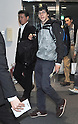 Actor Jesse Eisenberg arrives in Japan
