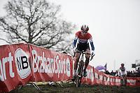 Dutch Champion Thalita Dejong (NLD/Rabo-Liv)<br /> <br /> Grand Prix Adrie van der Poel, Hoogerheide 2016<br /> UCI CX World Cup