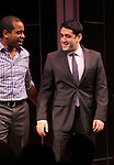 Daniel Breaker & Evan Cabnet during the Broadway Opening Night Performance Curtain Call for 'The Performers' at the Longacre Theatre in New York City on 11/14/2012