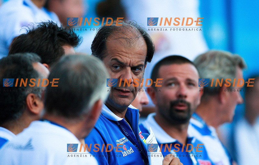 Roma 29th July 2009 - 13th Fina World Championships .From 17th to 2nd August 2009.200 m Freestyle men's .Italian Coach.photo: Roma2009.com/InsideFoto/SeaSee.com