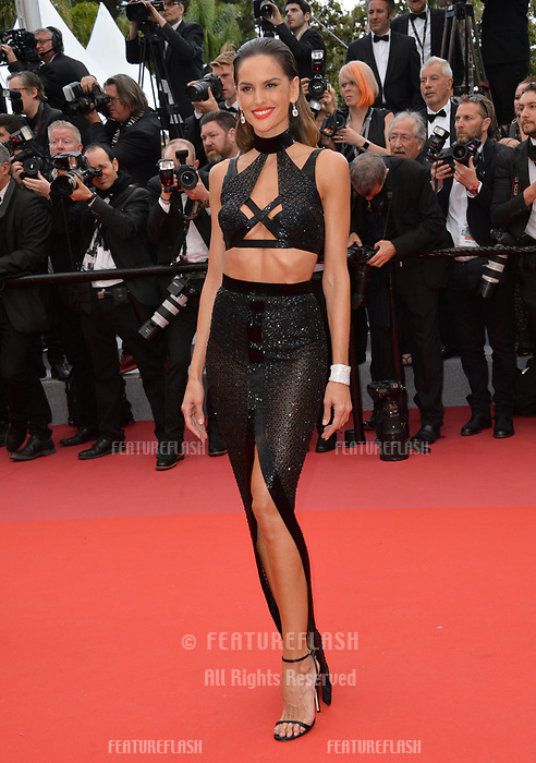 Izabel Goulart at the gala screening for &quot;Solo: A Star Wars Story&quot; at the 71st Festival de Cannes, Cannes, France 15 May 2018<br /> Picture: Paul Smith/Featureflash/SilverHub 0208 004 5359 sales@silverhubmedia.com