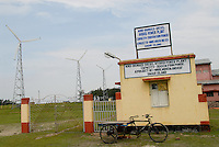 "Asien Suedasien Indien Westbengalen , Sagar Insel im Gangesdelta , Windenergie Biomasse Diesel Hybrid Kraftwerk - renewables Energie laendliche Entwicklung xagndaz | .South asia India West-Bengal , Sagar Island at Sundarbans the delta of Ganges river , Windenergy Biomass Diesel Hybrid power plant - renewable energy rural development .| [ copyright (c) Joerg Boethling / agenda , Veroeffentlichung nur gegen Honorar und Belegexemplar an / publication only with royalties and copy to:  agenda PG   Rothestr. 66   Germany D-22765 Hamburg   ph. ++49 40 391 907 14   e-mail: boethling@agenda-fototext.de   www.agenda-fototext.de   Bank: Hamburger Sparkasse  BLZ 200 505 50  Kto. 1281 120 178   IBAN: DE96 2005 0550 1281 1201 78   BIC: ""HASPDEHH"" ,  WEITERE MOTIVE ZU DIESEM THEMA SIND VORHANDEN!! MORE PICTURES ON THIS SUBJECT AVAILABLE!!  ] [#0,26,121#]"