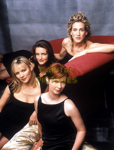 SARAH JESSICA PARKER, CYNTHIA NIXON, KIM CATTRALL & KRISTEN DAVIS.in Sex And The City.Filmstill - Editorial Use Only.Ref: FB.www.capitalpictures.com.sales@capitalpictures.com.Supplied by Capital Pictures