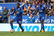 9th September 2017, King Power Stadium, Leicester, England; EPL Premier League Football, Leicester City versus Chelsea; Wilfred Ndidi of Leicester City brings the ball forward
