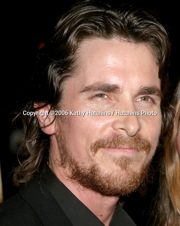 """Christian Bale.""""Harsh Times"""" Premiere.Crest Theater.Westwood, CA.November 5, 2006.©2006 Kathy Hutchins / Hutchins Photo...."""