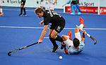 Steve Edwards during the Pro League Hockey match between the Blacksticks men and the Argentina, Nga Punawai, Christchurch, New Zealand, Friday 28 February 2020. Photo: Simon Watts/www.bwmedia.co.nz