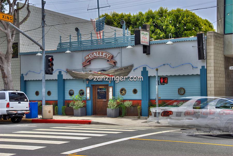The Galley, Restaurant,  Main Street, Santa Monica, CA