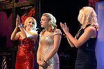 Ciara Mackey, centre, Newcastle Glees Musical Society, County Down is stunned at the announcement she won the Best Female Singer/ Gilbert Section for her role as Janet Van Der Graff in The Drowsy Chaperone at the Association of Irish Musical Societies (AIMS) annual awards in the INEC, Killarney at the weekend. <br /> Photo Don MacMonagle<br /> <br /> repro free photo AIMS<br /> Further info: Kate Furlong PRO kate.furlong84@gmail.com