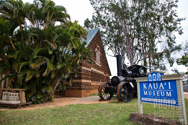 Exterior of the Kauai Museum in Lihue