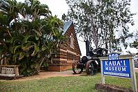Exterior of the Kauai Museum in Lihue