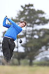 Alan Kiernan (Forrest Little) on the 11th Tee, Day 2 at the East of Ireland Amateur Open Championship 2011 in Co.Louth Golf Club....(Photo credit should read Jenny Matthews www.newsfile.ie)....This Picture has been sent you under the conditions enclosed by:.Newsfile Ltd..The Studio,.Millmount Abbey,.Drogheda,.Co Meath..Ireland..Tel: +353(0)41-9871240.Fax: +353(0)41-9871260.GSM: +353(0)86-2500958.email: pictures@newsfile.ie.www.newsfile.ie.