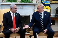 US President Donald J. Trump hosts Prime Minister of Israel Benjamin Netanyahu