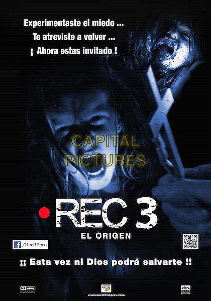 SPANISH DVD ART.in [REC 3] Genesis (2012) .*Filmstill - Editorial Use Only*.CAP/FB.Supplied by Capital Pictures.