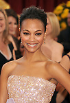 HOLLYWOOD, CA. - March 07: Zoe Saldana arrives at the 82nd Annual Academy Awards held at the Kodak Theatre on March 7, 2010 in Hollywood, California.