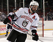 Brendan Collier (NU - 16) - The Northeastern University Huskies and University of New Hampshire Wildcats tied 2-2 on Saturday, January 14, 2017, at Fenway Park in Boston, Massachusetts.