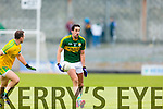 Anthony Maher Kerry in action against Neil McGee Donegal in Division One of the National Football League at Austin Stack Park Tralee on Sunday.