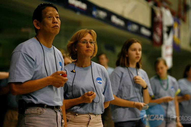 17 MAR 2007:   Athletes compete during the Division II Men's and Women's Swimming and Diving Championship held at the Flickinger Center in Buffalo, NY.  Harry Scull/NCAA Photos.