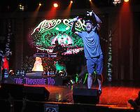 FORT LAUDERDALE FL - JULY 06: Aesop Rock performs at Revolution on July 6, 2016 in Fort Lauderdale, Florida. Credit: mpi04/MediaPunch