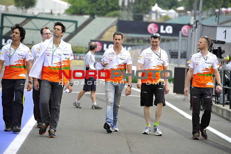 Adrian Sutil (GER), Force India Formula One Team <br />  Foto &copy; nph / Mathis