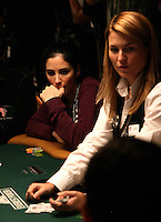 SARAH SILVERMAN.The Ante Up for Africa Celebrity Poker Tournament at the Rio Resort Hotel and Casino, Las Vegas, Nevada, USA..July 2nd, 2009.half length table bet betting chips  cards dealer .CAP/ADM/MJT.© MJT/AdMedia/Capital Pictures