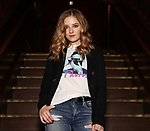 """Jackie Evancho in rehearsal for new show """"The Debut"""" inspired by the great tradition of Broadway musicals at Feinsteins/54 Below on June 11, 2019 in New York City."""