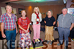 Attending the O'Riada's Dinner & Intimate Gig with Sharon Shannon on Friday evening.<br />  Johnny Cahill, Betty Ahern, Sharon Shannon, John Walsh and Angela Cahill from Castleisland.