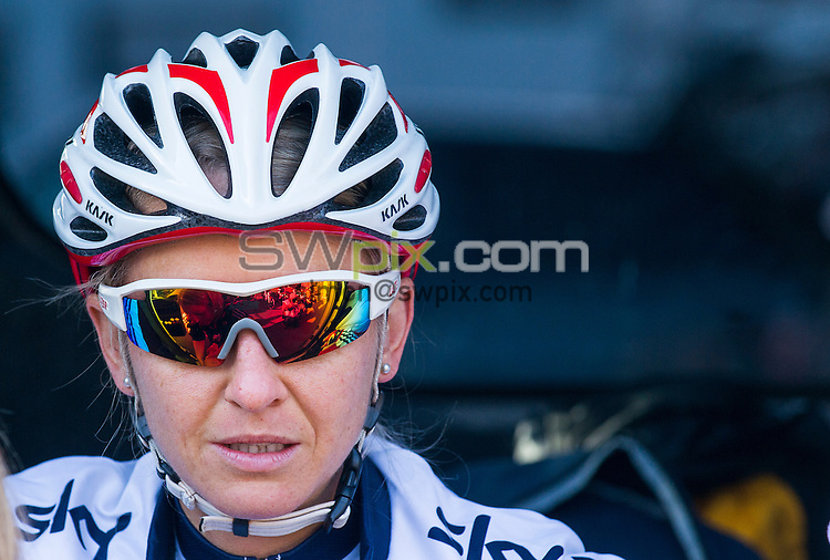 Picture by Allan McKenzie/SWpix.com - 30/04/2016 - Cycling - 2016 Asda Women's Tour de Yorkshire: Otley to Doncaster - Yorkshire, England - Team GB's Emma Pooley.