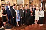 Germany, Berlin, 2018/05/28<br /> <br /> Verleihung des Scopus Award an Henryk M. Broder am 28/5/2018. V.l.: Maya Zehden, Matthias Döpfner, Leon de Winter, Friede Springer, Henryk M. Broder, ?. (Photo by Gregor Zielke)