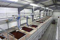 concrete vats fixed mechanic plungers delas freres tournon-s-r rhone france