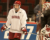 Seb Lloyd (Harvard - 15) - The Harvard University Crimson practiced at the United Center on Wednesday, April 5, 2017, in Chicago, Illinois.