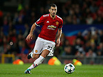 Henrikh Mkhitaryan of Manchester United during the Champions League Group A match at the Old Trafford Stadium, Manchester. Picture date: September 12th 2017. Picture credit should read: Andrew Yates/Sportimage