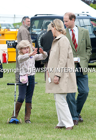 "Prince Edward, Sophie, The Countess of Wessex and their Lady Louise Windsorenjoy a family day out at the Royal Windsor Horse Show the Wessex Family watched a show in the main arena after which Sophie and Lady Louise went and played on some of the fairground attractions including darts and hook a duck..It was all change from the pomp of the Royal Wedding two weeks ago for the young royal..The Royal Windsor Horse Show 2011, Windsor_14/05/2011.Mandatory Photo Credit: ©Dias/Newspix International..**ALL FEES PAYABLE TO: ""NEWSPIX INTERNATIONAL""**..PHOTO CREDIT MANDATORY!!: NEWSPIX INTERNATIONAL(Failure to credit will incur a surcharge of 100% of reproduction fees)..IMMEDIATE CONFIRMATION OF USAGE REQUIRED:.Newspix International, 31 Chinnery Hill, Bishop's Stortford, ENGLAND CM23 3PS.Tel:+441279 324672  ; Fax: +441279656877.Mobile:  0777568 1153.e-mail: info@newspixinternational.co.uk"