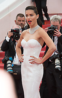 Adriana Lima at the premiere for &quot;Loveless&quot; at the 70th Festival de Cannes, Cannes, France. 18 May  2017<br /> Picture: Paul Smith/Featureflash/SilverHub 0208 004 5359 sales@silverhubmedia.com