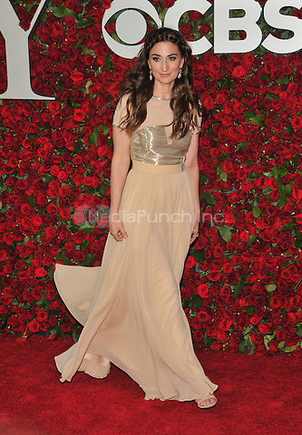 NEW YORK, NY - JUNE 12: Sara Bareilles at the 70th Annual Tony Awards at The Beacon Theatre on June 12, 2016 in New York City. Credit: John Palmer/MediaPunch