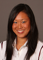 STANFORD, CA - SEPTEMBER 10:  Michelle Liu of the Stanford Cardinal during women's swimming picture day on September 10, 2009 in Stanford, California.