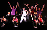 Sammy Williams with ensemble from A CHORUS LINE<br />