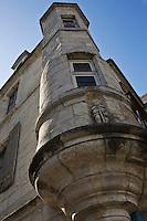 Europe/France/Aquitaine/24/Dordogne/Périgueux: Maison à tourelle rue du Calvaire dans la vielle ville