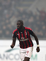 Calcio, Serie A: AC Milan - Inter Milan, Giuseppe Meazza (San Siro) stadium, Milan on 17 March 2019.  <br /> Milan's Tiémoué Bakayoko celebrates after scoring during the Italian Serie A football match between Milan and Inter Milan at Giuseppe Meazza stadium, on 17 March 2019. <br /> UPDATE IMAGES PRESS/Isabella Bonotto
