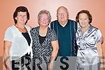 Pictured at the Tea Dance in the KDYS, Tralee on Friday, from left: Marie Goodwin, Jean Smith, Tom Smith and Mary Martin.