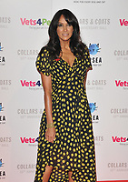 Jackie St Clair at the Battersea Dogs &amp; Cats Home Collars &amp; Coats Gala Ball 2018, Battersea Evolution, Battersea Park, London, England, UK, on Thursday 01 November 2018.<br /> CAP/CAN<br /> &copy;CAN/Capital Pictures
