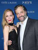 LOS ANGELES, CA - OCTOBER 9: Leslie Mann, Judd Apatow, at Porter's Third Annual Incredible Women Gala at The Ebell of Los Angeles in California on October 9, 2018. Credit: Faye Sadou/MediaPunch