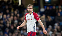 Craig Dawson of WBA during the Premier League match between Chelsea and West Bromwich Albion at Stamford Bridge, London, England on 12 February 2018. Photo by Andy Rowland.