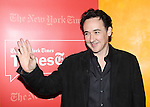 TimesTalks: A Conversation with John Cusack interviewed by Dave Itzkoff at Times Center on 4/17/2012 in New York City.
