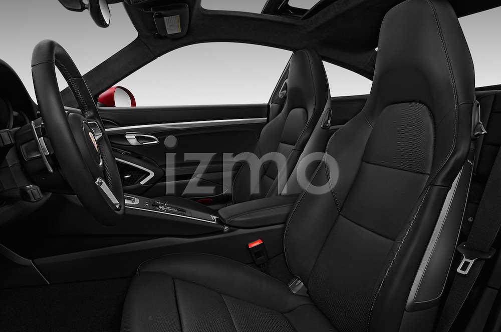 Front seat view of 2017 Porsche 911 Turbo 2 Door Coupe Front Seat  car photos