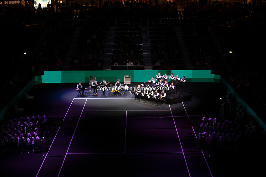 Rotterdam, The Netherlands, 15 Februari 2020, ABNAMRO World Tennis Tournament, Ahoy,<br /> Openingsceremonie.<br /> Photo: www.tennisimages.com