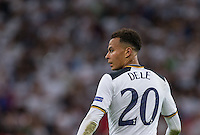 Dele Alli of Tottenham Hotspur during the UEFA Champions League Group stage match between Tottenham Hotspur and Monaco at White Hart Lane, London, England on 14 September 2016. Photo by Andy Rowland.