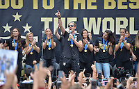 USWNT Fan Rally LA Live, Tuesday, July 7, 2015