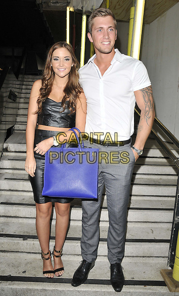 LONDON, ENGLAND - JULY 16: Jacqueline Jossa &amp; Dan Osborne attend the Attitude Magazine's World Sexiest Men 2014 summer party, The Paramount Club, 31st floor, Centre Point, New Oxford St., on Wednesday July 16, 2014 in London, England, UK.<br /> CAP/CAN<br /> &copy;Can Nguyen/Capital Pictures